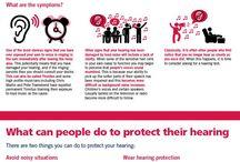 Infographics / Hearing health and hearing loss