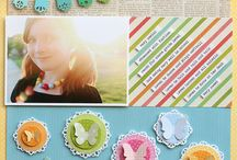 Scrapbooking Layouts for elementary school age