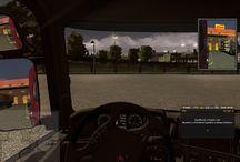 Euro Truck Simulator 2 - kialudtam magam / A mostani fuvarban egymás után 3x altatott a szoftver, így emberesen elkéstem. Persze ezt nem tolerálta senki...