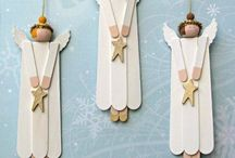 anděl ze špachtlí