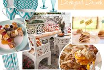 Entertaining-Midnight Brunch Party / Late night brunch/breakfast...come in your jammies for a late nite snack