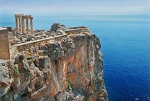 Temple of Poseidon,Cape Sounion,Greece