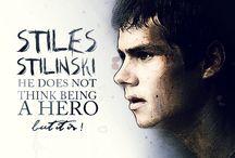 Stiles Stilinski / My digital creation of Stiles Stilinski