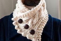 Вязание, шарфики