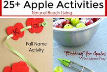 """Falling"" for Homeschooling - Autumn Ideas / Autumn Ideas for your homeschool"