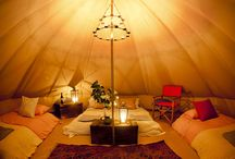 Bell Tent Inspiration / by Emily Talling
