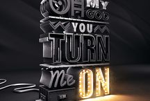 3D Typography / 3d typographical wonders
