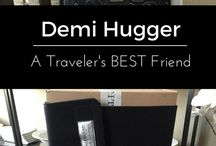Reviews /  Demi Hugger and other great products make travel easier.