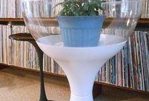Vintage Mid Century Modern Plastic Terrarium Planter