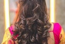 hairdo for Indian dressing styles