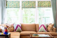 Window treatments / Curtains, blinds,