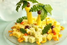Cheese platters / Ways of serving cheese