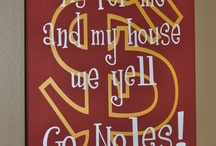 Noles n Saints / All things Florida State Seminoles and New Orleans Saints / by Lora Barbee