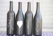 Glass bottle/jar craft