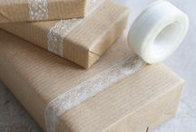 Gift wrapping / by yarn haus