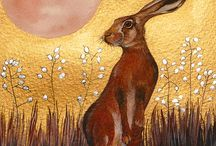 Peintre (Sam Cannon) / Art peinture animalière Féerique !