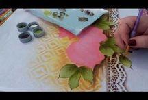 pintura c/ stencil