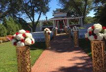 Wedding mandap by mehak florals