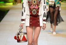 Fashion Week Milán Primavera-Verano 2017 / Dolce & Gabbana, Moschino, Prada, Philipp Plein, Alberta Ferretti, Etro.