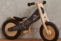 bicicleta de lemn (wood bike)