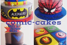 Superhero cakes / by A Sweet Design Cakes & Cupcakes, Inc