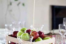słodko-owocowy stół