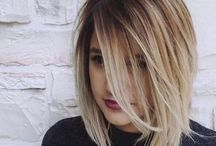 Blonde with shadow roots