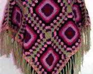Crochet - Poncho's