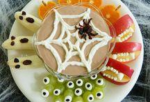 Halloween / Cool Ideas for Halloween themed snacks, decor ect..