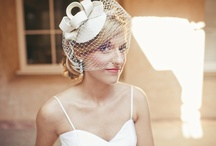Birdcage Veils / Also known as: cage veil, face veil, or pouf veil. The birdcage veil is a throw back to the 1940/50s style and gives off a feminine, flirtatious, and vintage vibe - especially if you are rocking a 1950's style wedding gown.  Birdcage veils are the shortest among all veil types and may be worn in a variety of ways: in front of the face, just over the eyes, or covering the entire head. Unlike some veils, this one is the perfect option for a bride that wants to wear her veil the entire wedding day. / by Love & Lavender | Wedding Blog