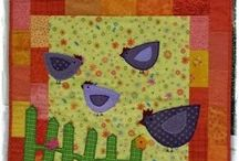 My own Quilts/ Patchwork / Patchwork, Quilt, Sewing
