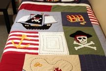 Pirate/nautical theme bedroom