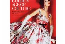 1950's Fashionplate / This is all about the nifty fifties. When women wore very feminin clothes and Paris Couture were at its hights.