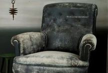 Shabby Old Armchairs