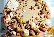 Deniz kabukları ile yapılan
