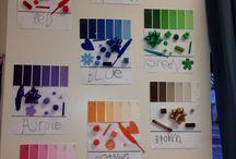 colour art class