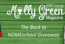Molly Green Giveaway Contest / by Molly Green Magazine