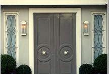 DOORS / doors, doorways, and exterior hardware. / by Ingrid @ {Houndstooth and Nail}