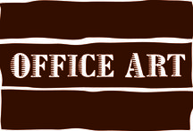 Office Art / Creativity is intelligence having fun! And the amazing pieces of art around the office help us be creative!