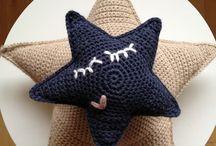Estrelas de crochê