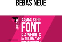 KREATIVE fonts / Creative fonts to inspire your next design. Pinned weekly by KREATIVE.
