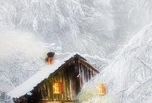 Upeita talvikuvia