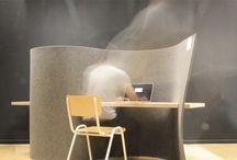 cloison espace de travail