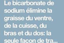 bicarbonate pour graisse