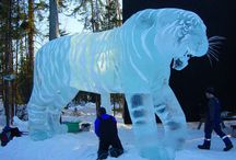 Ice and Snow Sculptures