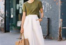 Pantalones cullote blancos