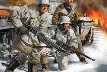 World War II Paintings