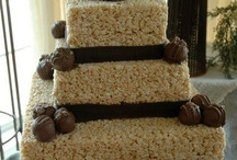 krispy treat cake