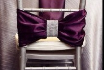 Wedding Chair Decor / by A Modern Proposal - Edmonton Wedding Planner