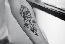 Geometric (Tattoos) Design / Really love the design, but unfortunately I don't like tattoos.